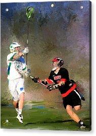 Eagan Defense Acrylic Print by Scott Melby