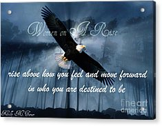 Eagle Flight Acrylic Print