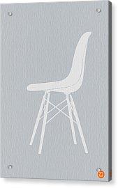 Eames Fiberglass Chair Acrylic Print
