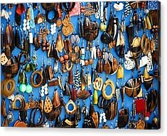 Ear Rings  Acrylic Print by Anjeh Ambroise