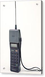 Early Mobile Phone Acrylic Print by Victor De Schwanberg