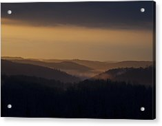 Early Morning Sunrise Acrylic Print