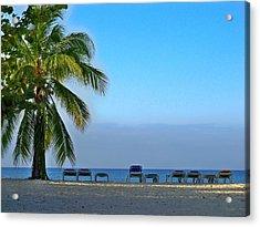 Acrylic Print featuring the photograph Early Morning Trinidad Cuba by Lynn Bolt