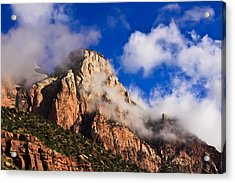 Early Morning Zion National Park Acrylic Print