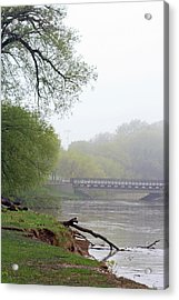 Acrylic Print featuring the photograph Early Spring Morning Fog by Kay Novy