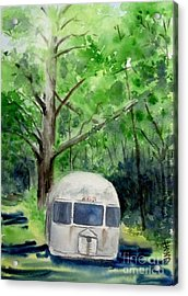Acrylic Print featuring the painting Early Summer At The Geddes Farm 1 --ann Arbor  Michigan by Yoshiko Mishina
