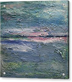 Acrylic Print featuring the painting Earthen Series 25 by Dolores  Deal