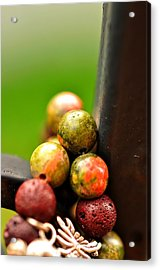 Earthy Stones  Acrylic Print by Puzzles Shum