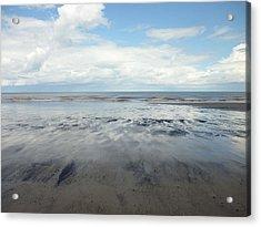 East Coast Seascape Acrylic Print by Sarah Couzens