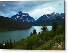 East Glacier Acrylic Print by Jeff Swan
