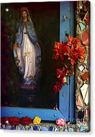 East La Mary Acrylic Print by Lawrence Costales