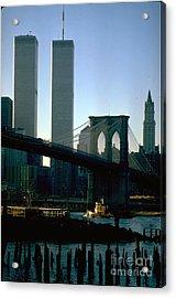 East River Tugboat Acrylic Print