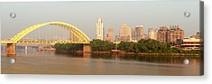 East Side Pano Acrylic Print by Keith Allen