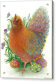 Easter Hen / Sold Acrylic Print