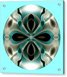 Acrylic Print featuring the digital art Easter by Visual Artist Frank Bonilla