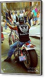 Easy Rider Acrylic Print