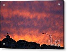 Eat The Sky Acrylic Print by Kerryn Davis