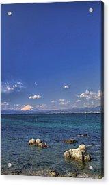 Acrylic Print featuring the photograph Ebb by Tad Kanazaki