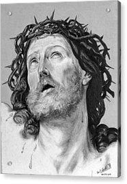 Ecce Homo Acrylic Print by Miguel Rodriguez