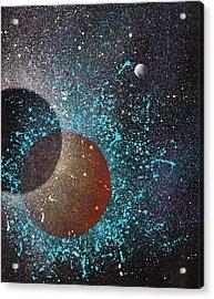 Eclipse Acrylic Print by Reina Cottier