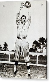 Eddie Collins (1887-1951) Acrylic Print by Granger