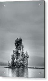 Eddystone Rock Misty Fjords National Monument Alaska Acrylic Print
