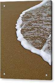 Edge Of The Ocean Acrylic Print by Jeremy Allen