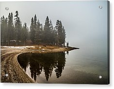 Acrylic Print featuring the photograph Edge by Randy Wood
