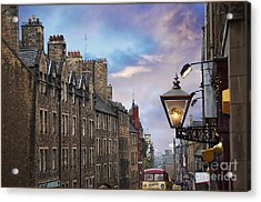 Edinburgh Mile Acrylic Print
