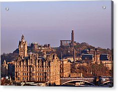 Edinburgh Scotland - A Top-class European City Acrylic Print by Christine Till