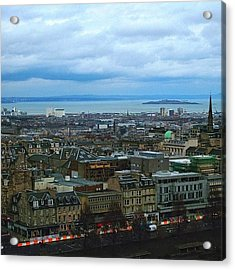 Edinburgh Skyline Acrylic Print