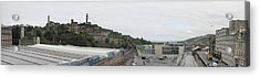 Edinburgh Station Panorama Acrylic Print