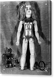 Edison: Talking Doll, C1890 Acrylic Print by Granger