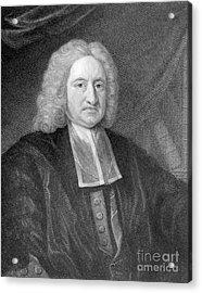Edmond Halley, English Polymath Acrylic Print by Photo Researchers