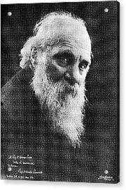Edoardo Perroncito, Italian Physician Acrylic Print by