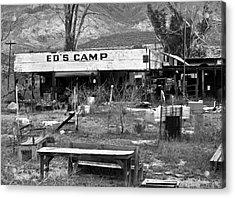 Ed's Camp Acrylic Print