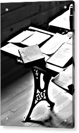 Education Station Acrylic Print by Empty Wall