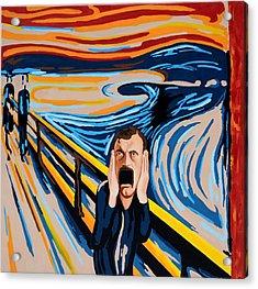 Edvard Munch - The Scream Acrylic Print by Dennis McCann