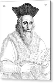 Edward Kelley, English Alchemist Acrylic Print by Science Source