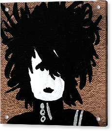 Edward Square Acrylic Print by Jera Sky
