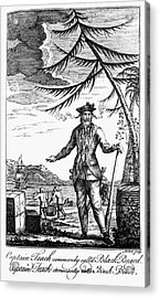 Edward Teach (?-1718) Acrylic Print by Granger
