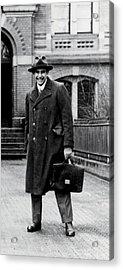 Edward Teller 1908-2003, As A Research Acrylic Print by Everett