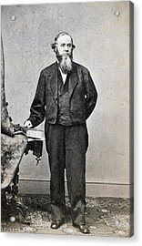 Edwin Stanton, Secretary Of War Ender Acrylic Print by Everett