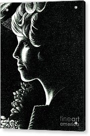 Effie Trinket Acrylic Print