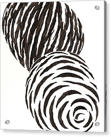 Egg Drawing 010006 Acrylic Print