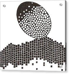 Egg Drawing 019901 Acrylic Print