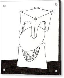 Egg Drawing 030009 Acrylic Print