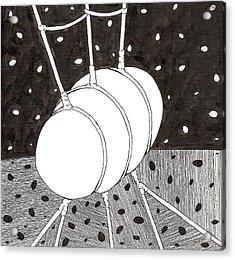 Egg Drawing 059836 Acrylic Print