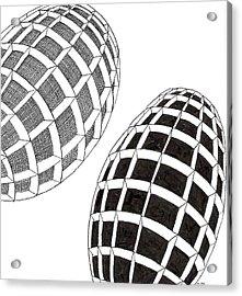 Egg Drawing 060026 Acrylic Print