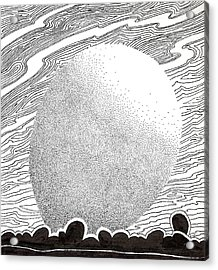 Egg Drawing 069827 Acrylic Print